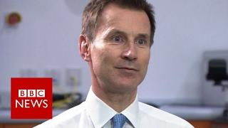 Jeremy Hunt: NHS problems unacceptable - BBC News