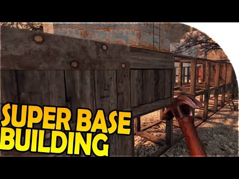 Beginning our NEW SUPER BASE BUILDING - 7 Days to Die Alpha 16 Gameplay Part 29 (Season 2)
