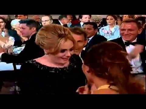 "ADELE wins Best Original Song for ""Skyfall"". Golden Globes 2013."