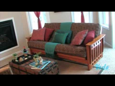 Futon Facelift: The Living Room