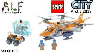 Lego City 60193 Arctic Air Transport Speed Build