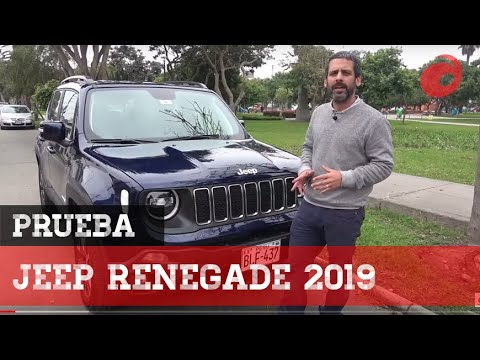 Jeep Renegade 2019   Prueba   Review