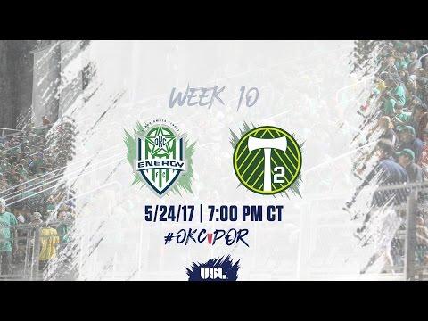USL LIVE - OKC Energy FC vs Portland Timbers 2 5/24/17