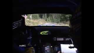 WRC Finland 2004 - Subaru Onboard Petter Solberg