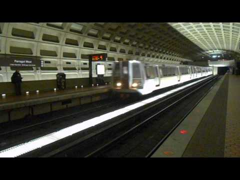 WMATA Metrorail Money train Rohr cars 8002-8003 @ Farragut West