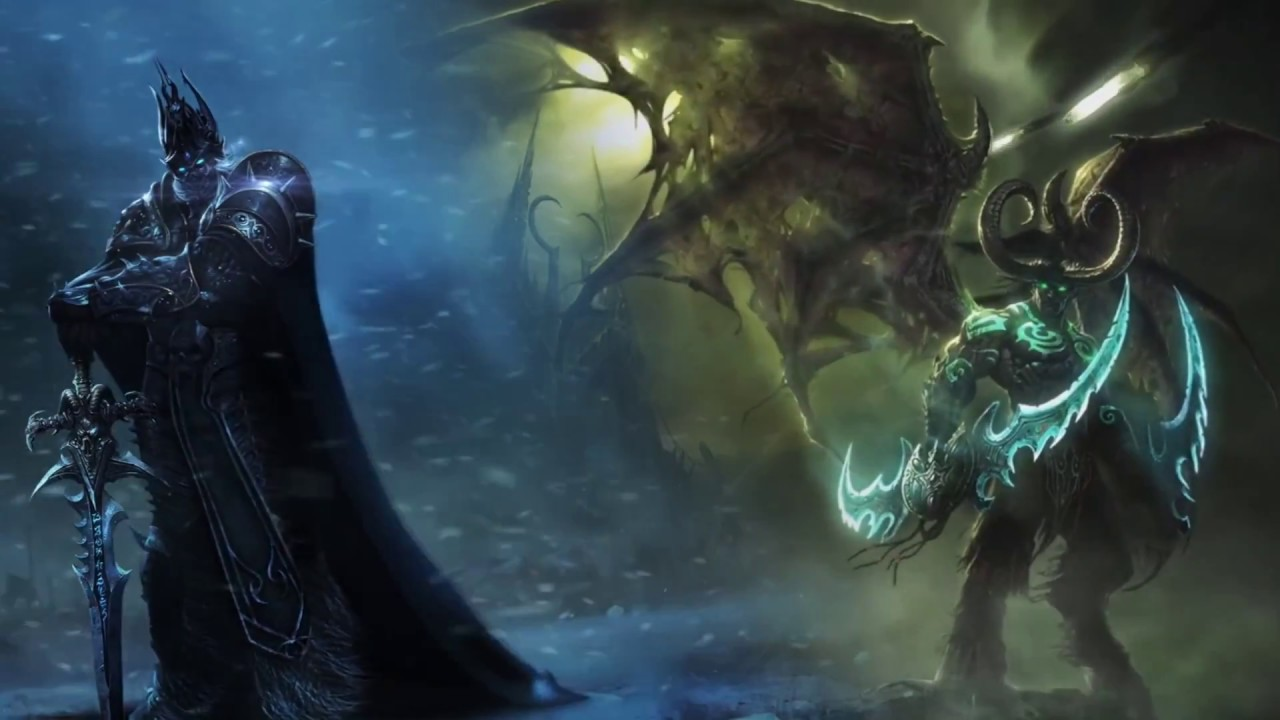 Lich King And Illidan Animated Wallpaper