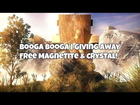 how to get magnetite in booga booga