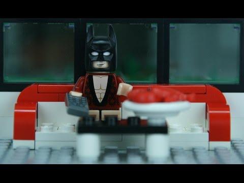 Lego Batman parody - Trouble on his day off