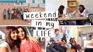 WEEKEND IN MY LIFE ✌🏼 Meetup with Subscribers in Chennai, Chilling in Mumbai // #KritikaVlogs