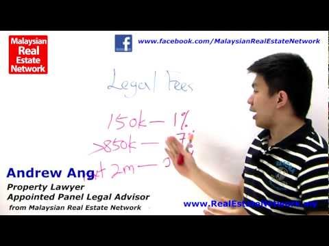 Property Investment Malaysia Legal Tips No 17 - What is Legal Fees?