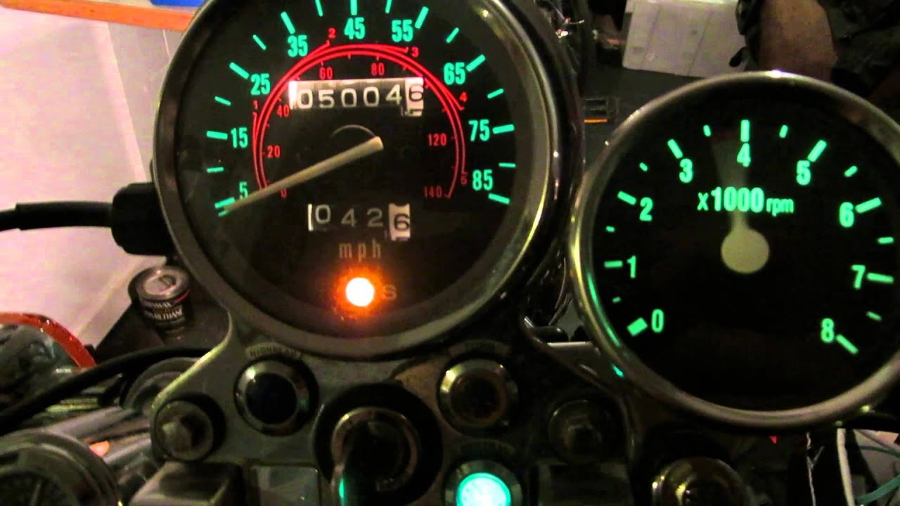 Tachometer Wiring For 250 Honda Rebel Trusted Diagrams Installation Autogage Tach Install With Youtube Yamaha Outboard