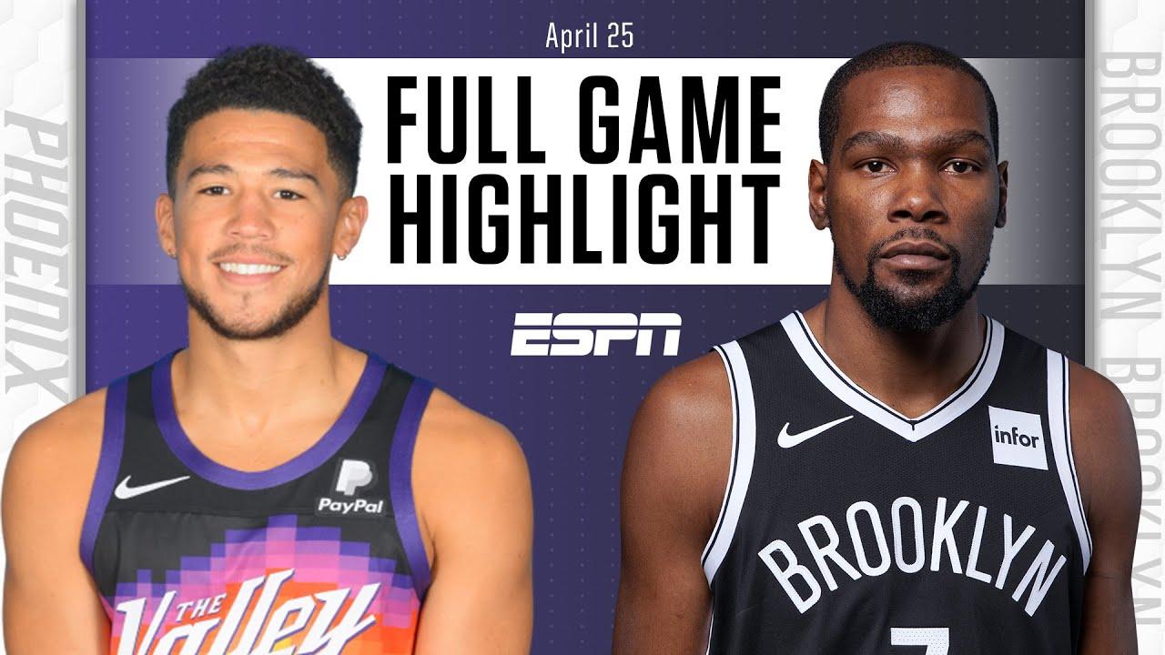 Suns vs. Nets - Game Recap - April 25, 2021 - ESPN