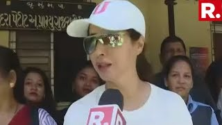 Urmila Matondkar Speaks To Republic TV After Casting Her Vote In Maharashtra Assembly Elections