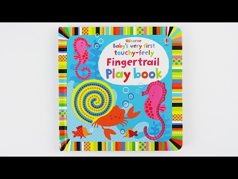 Babyfunbox - Babys Very First Touchy Feely Fingertrail Playbook