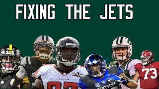 Fixing the New York Jets 2019 (Trades, Mock Draft, Free Agency)