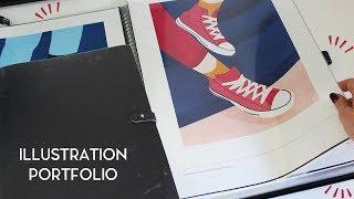 Illustration Portfolio | Flip through and Tips