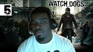 Watch Dogs Gameplay Walkthrough Part 5 - Best Police Chase Ever - Watch Dogs Gameplay Black Guy