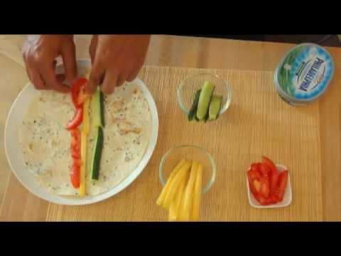 how to close tortilla wraps