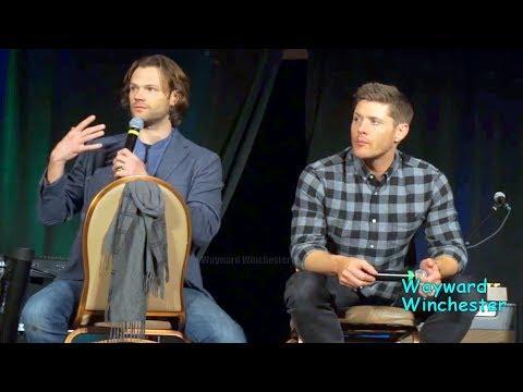 Jared Padalecki's Emotional Speech Leaves Jensen SPEECHLESS SPNLVCON 2018