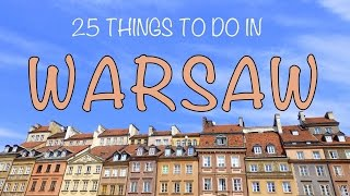 25 Things to do in Warsaw, PolandTop Attractions Travel Guide