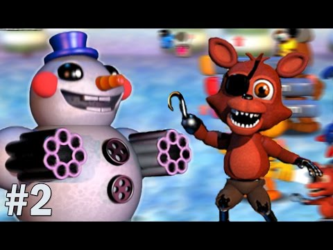 Foxy Plays: FNAF World #2 || LOST IN THE ICE COLD TUNDRA