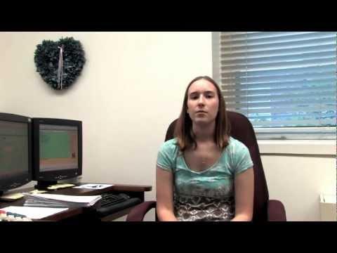 Student Employee Alyssa at Northwest Missouri State University