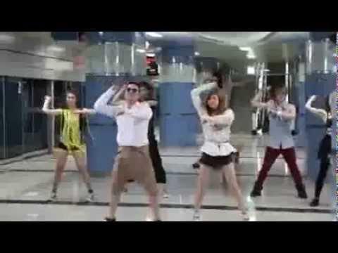 PSY - 'Gangnam Style' M_V BTS (With Hyuna) - YouTube