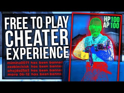 CS:GO FREE TO PLAY (CHEATER EXPERIENCE)