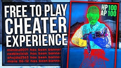 CS:GO FREE TO PLAY (CHEATER EXPERIENCE)