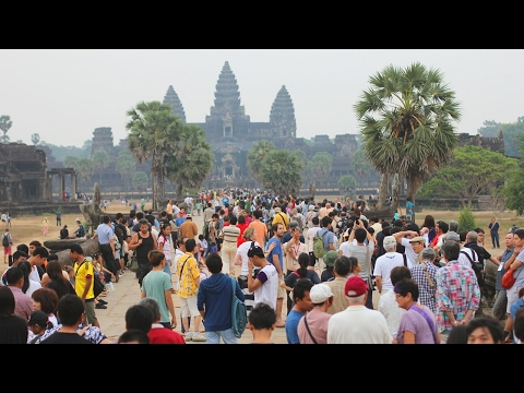 History of Angkor Wat Temple Part 1 - Attractive tourist destination -Visit Cambodia 2017