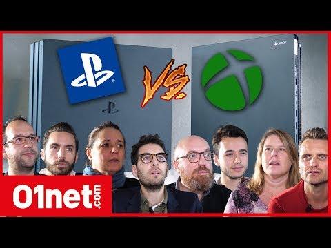 PS4 Pro VS Xbox One X : ce qu'en pense le jury de la rédaction 01net !
