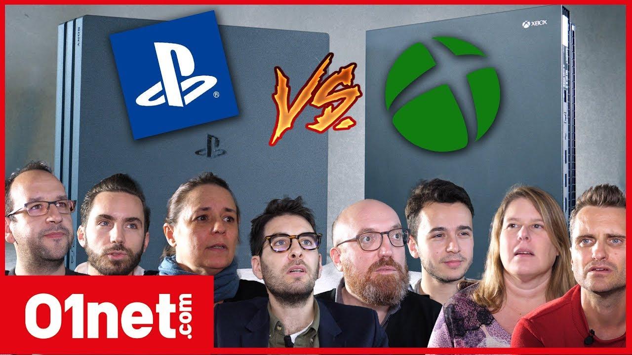 noel 2018 xbox one ou ps4 PS4 Pro VS Xbox One X : ce qu'en pense le jury de la rédaction  noel 2018 xbox one ou ps4