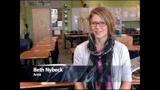 Artist in Residence: Beth Nybeck at Battle High School
