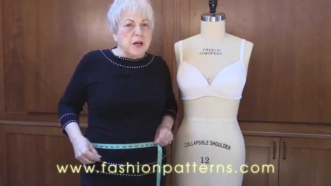 Re-Size and Re-Fit Your Dress Form - YouTube