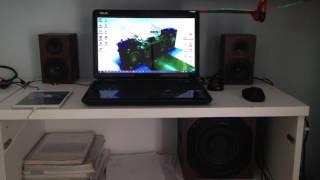 Trust vigor speaker system 2.1 bass test