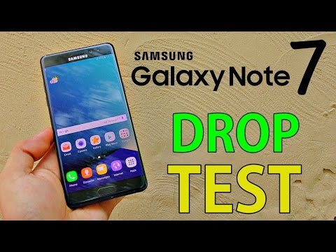 Samsung Galaxy Note 7 Drop Test! (4K)