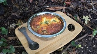 Bake Impossible Salmon Pie In A Cardboard Backpacking Oven