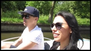 ENGLAND VLOG - Boat/Bike Ride and Chessington!