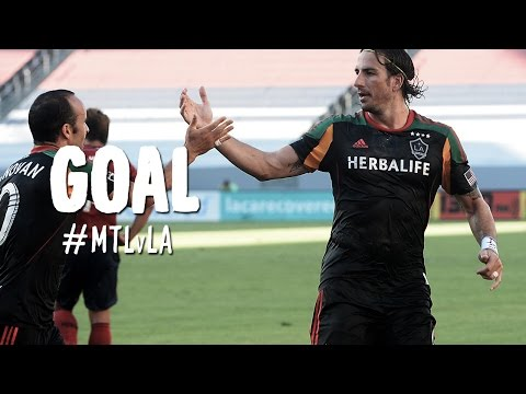 GOAL: Alan Gordon finds space and powers home the equalizer | Montreal Impact vs. LA Galaxy