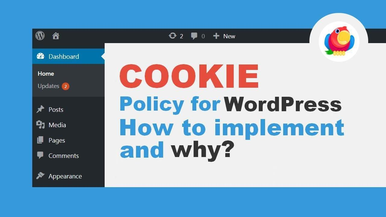cookie policy for wordpress websites how to implement and why