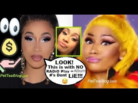 Cardi B Responds to Nicki Minaj saying her Career is Built off PAYOLA! 💰❌(Video)