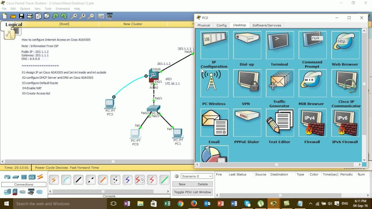 Cisco Asa 5505 Setup