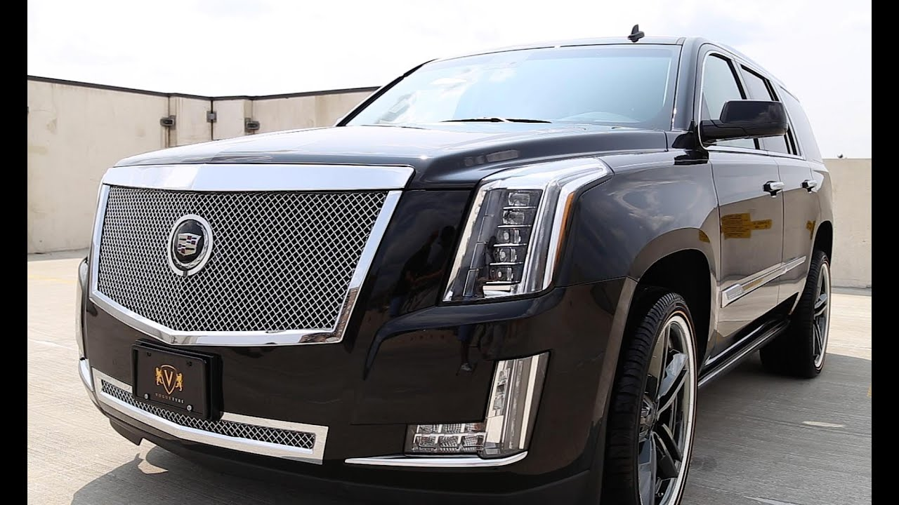 hight resolution of custom 2015 escalade from vogue tyre