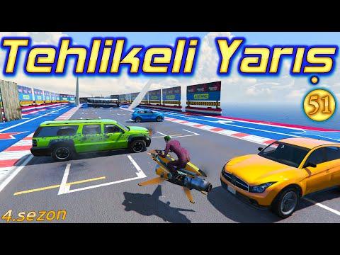 ROKET MOTOR İLE ARABA VURMACA - Tehlikeli Yarış 4.Sezon Örümcek Çocuk