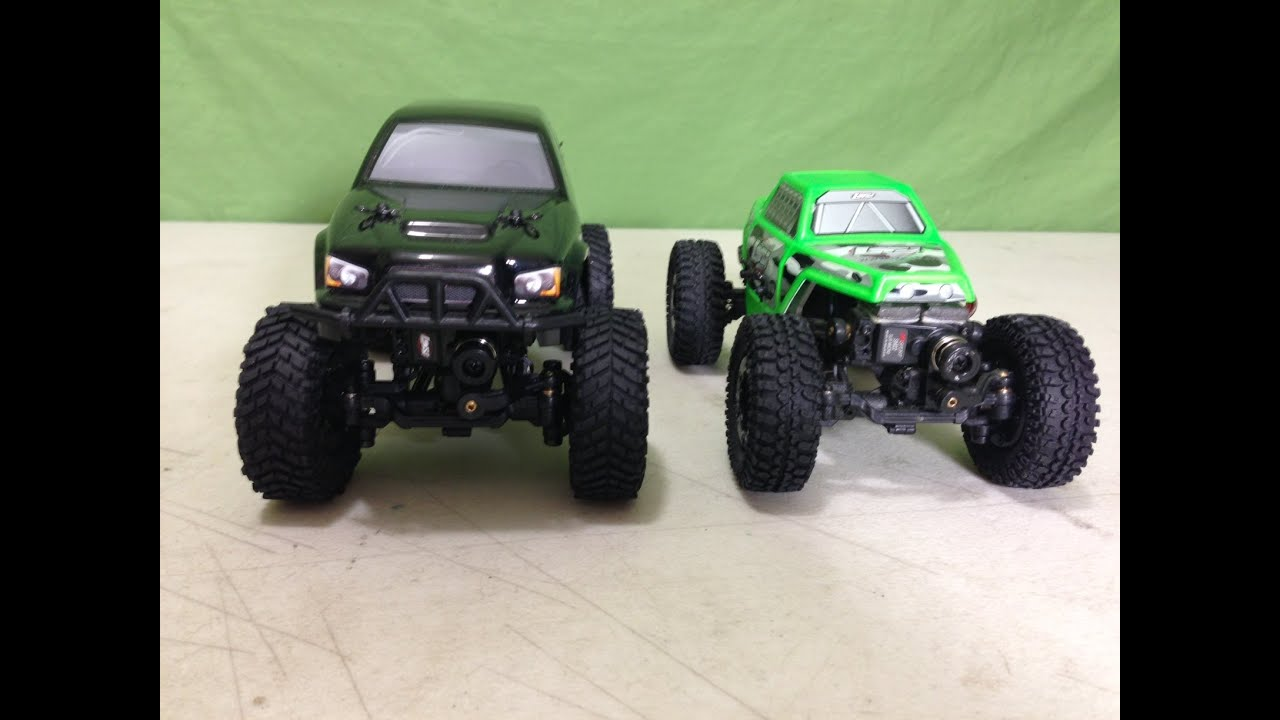 RC4WD Tire Upgrade for Losi Trail Trekker and Micro Crawler