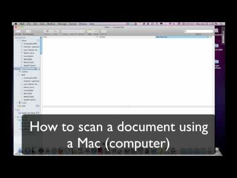 How Do I Use A Scanner With A Mac?