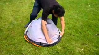 Teach you how to fold a 2 seconds tent thumbnail