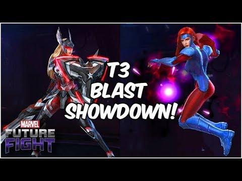 Jean Grey & Sharon Rogers!! Higher DPS?! Ultimate Blast Heroes - Marvel Future Fight