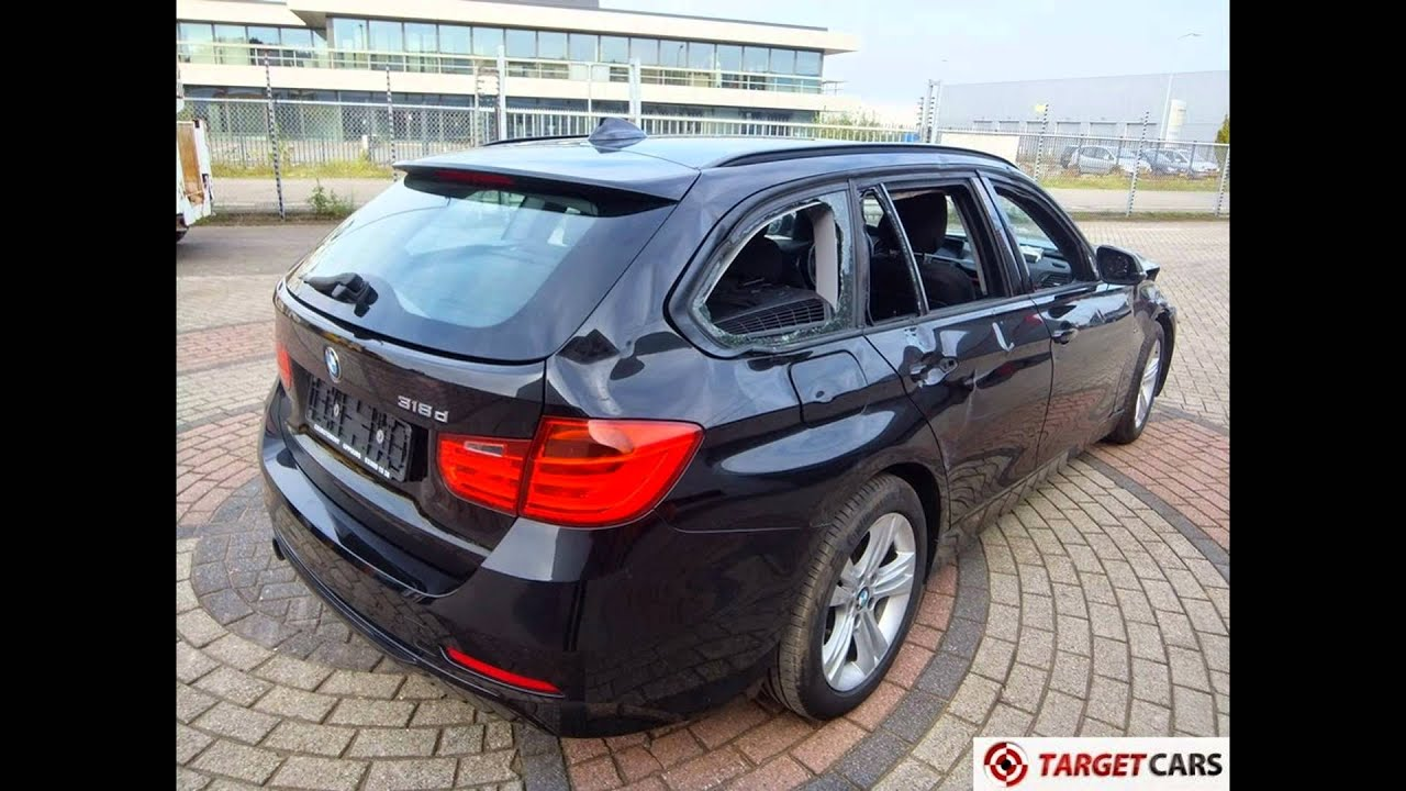 740901 bmw 318d touring f31 sport line black 03 13 57677km navi headup lhd youtube. Black Bedroom Furniture Sets. Home Design Ideas
