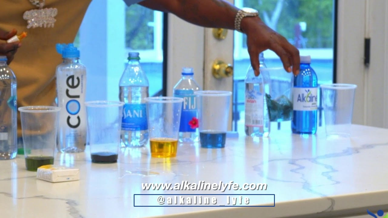 Boosie test his Water Alkaline Lyfe vs other brands